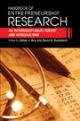 Handbook of Entrepreneurship Research - An Interdisciplinary Survey and Introduction